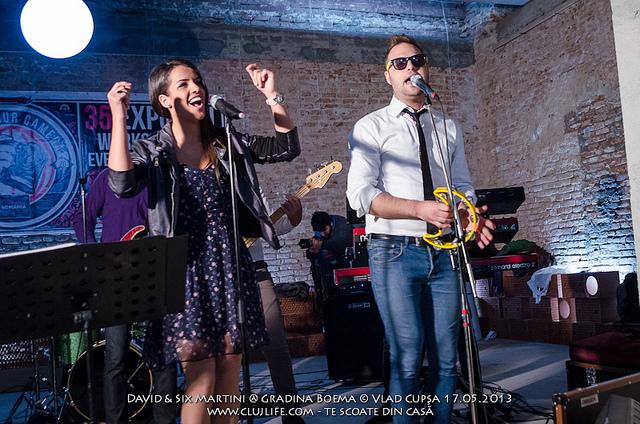 Poze: David & Six Martini Band @ Gradina Boema