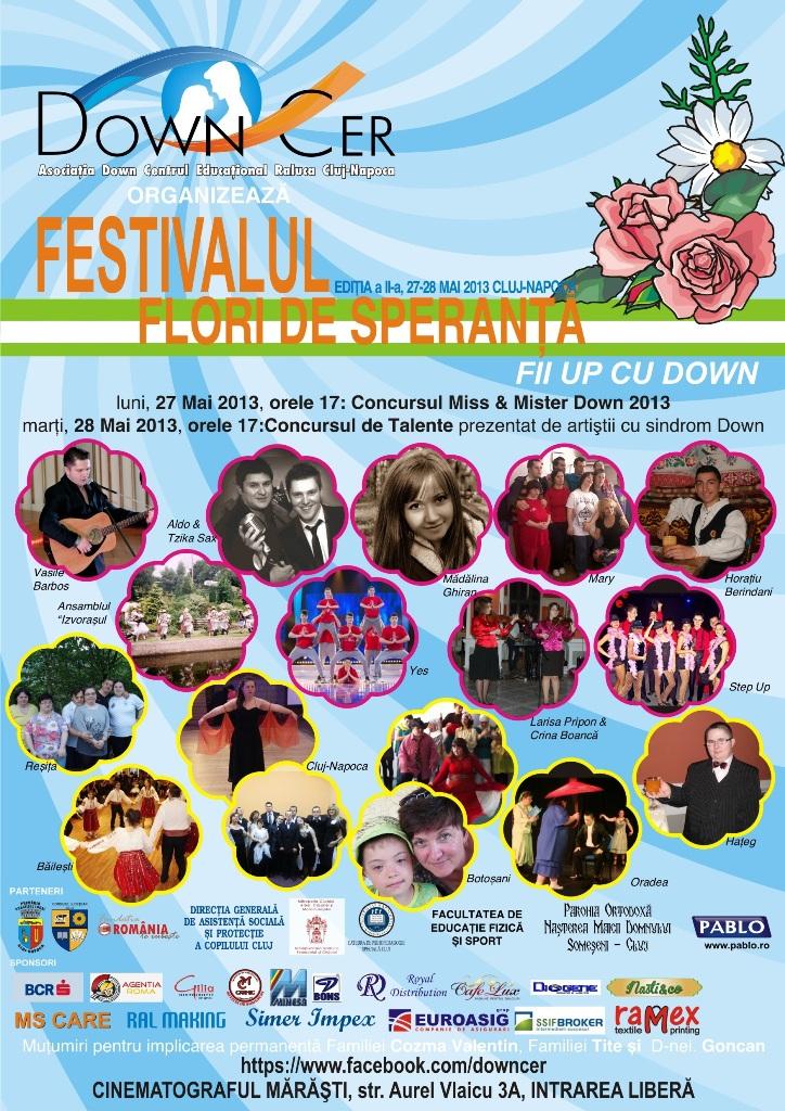 """Festivalul """"Flori de Speranta"""""""
