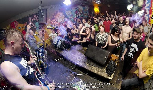 Poze: Koffin Kats @ Gambrinus Pub