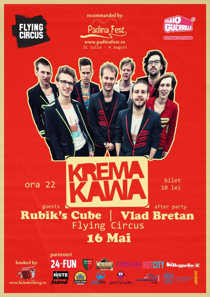 Krema Kawa @ Flying Circus Pub
