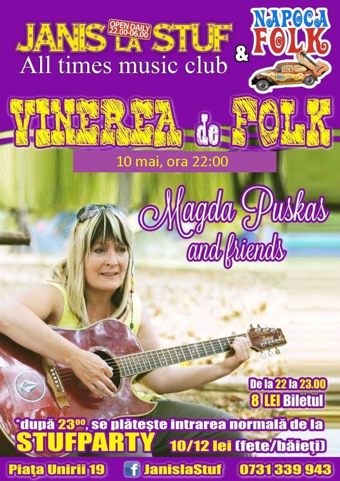 Magda Puskas @ Janis la Stuf