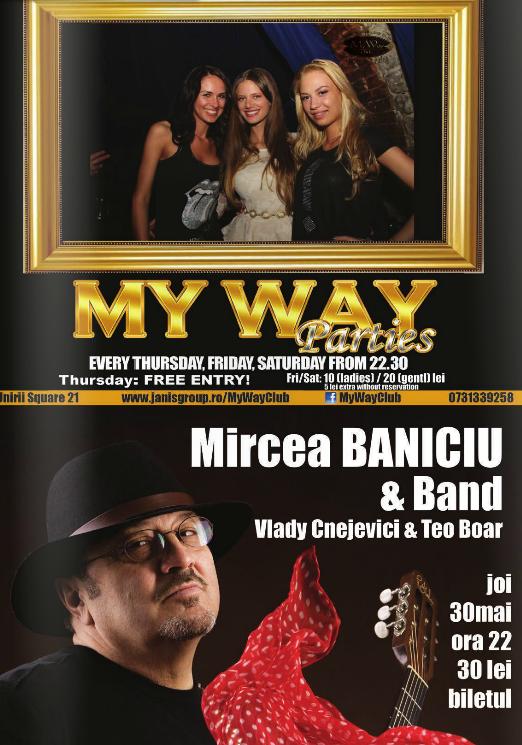 Mircea Baniciu & Band @ Club My Way