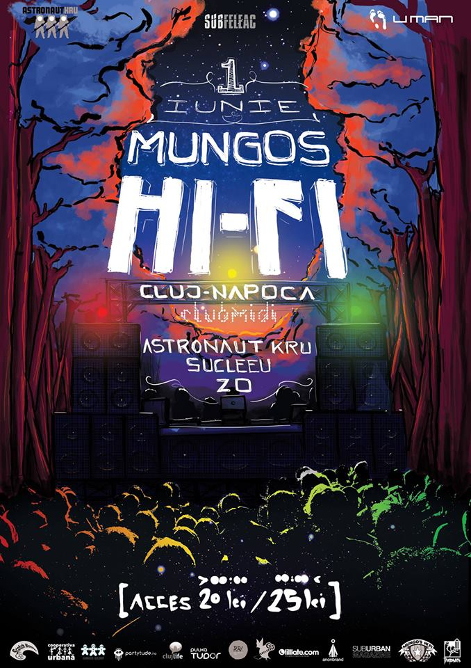 Mungo's Hi-Fi / Sucleeu / AstronautKru