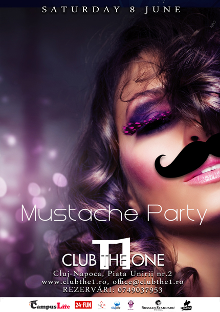 Mustache Party @ Club The One