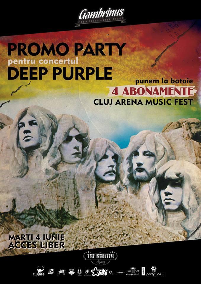 Deep Purple Promo Party @ Gambrinus Pub