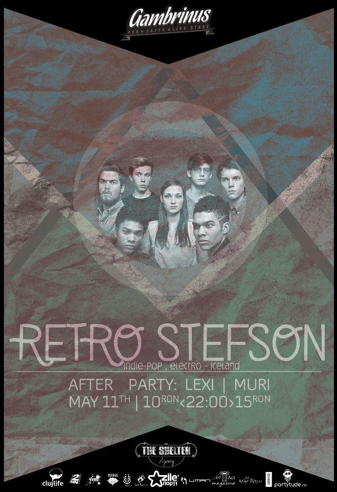 Retro Stefson @ Gambrinus Pub