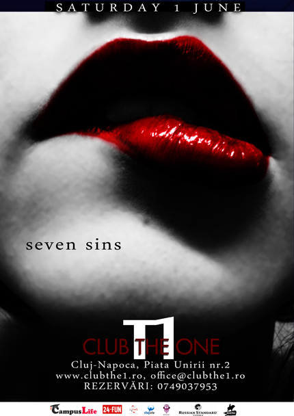 Seven Sins Party @ Club The One