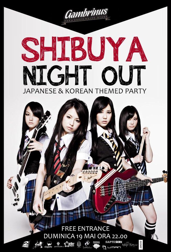 Shibuya Night Out @ Gambrinus Pub