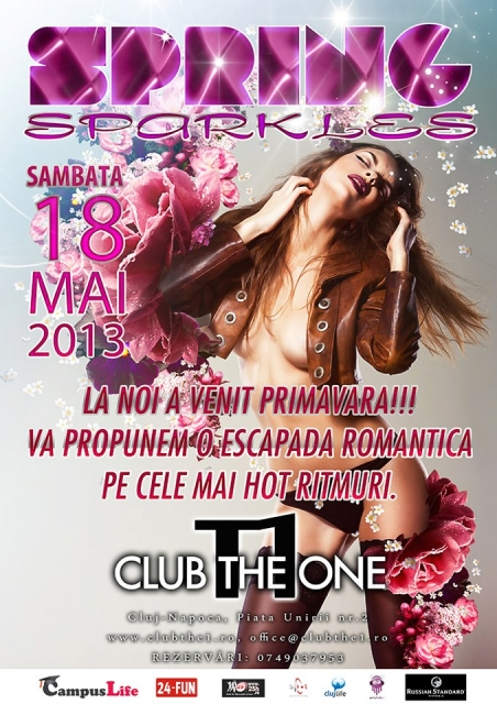 Spring Sparkles @ Club The One
