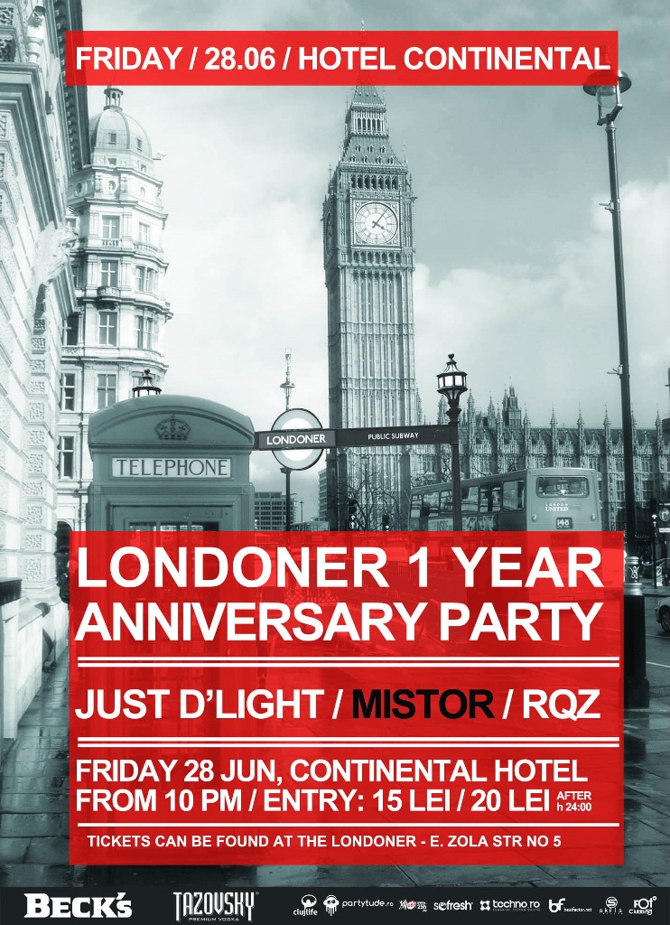 Londoner – 1 year anniversary