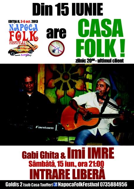 Gabi Ghita & Imi Imre @ Casa Folk