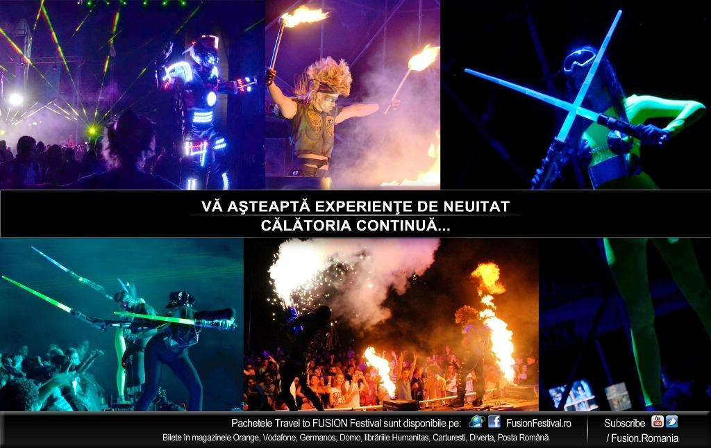 INVADERS Show la FUSION Festival 2013