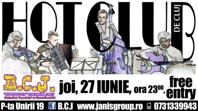 Hot Club de Cluj @ BCJ