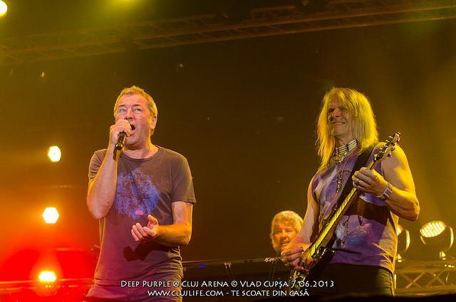 Poze: Deep Purple @ Cluj Arena