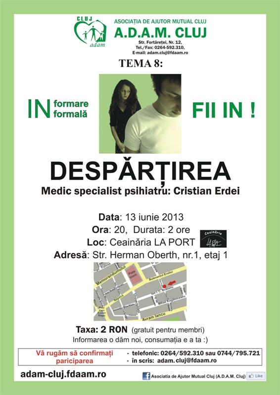 Despǎrţirea @ Ceainaria La Port