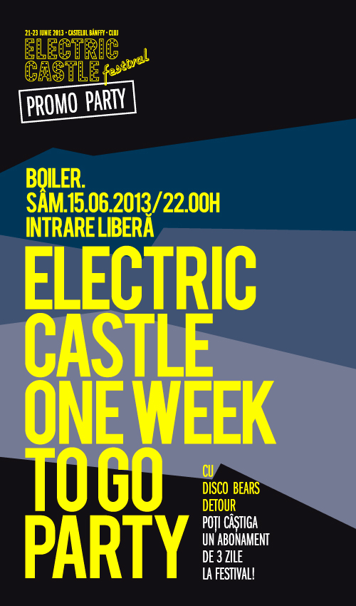 Electric Castle – One Week To Go Party