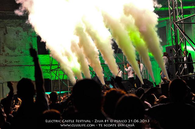 Poze: Electric Castle Festival – ziua #1