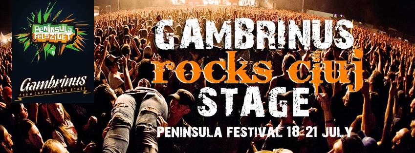 Gambrinus Rocks Cluj Stage @ Peninsula 2013
