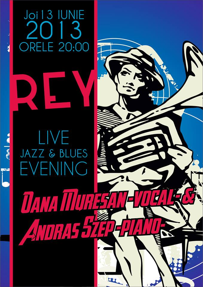 Live Jazz & Blues evening @ REY