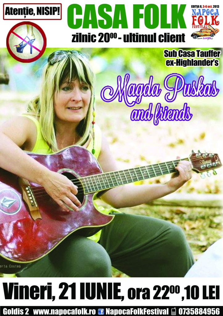 Magda Puskas & Friends @ Casa Folk