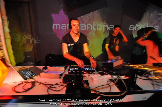 Poze: Marc Antona @ Club Midi