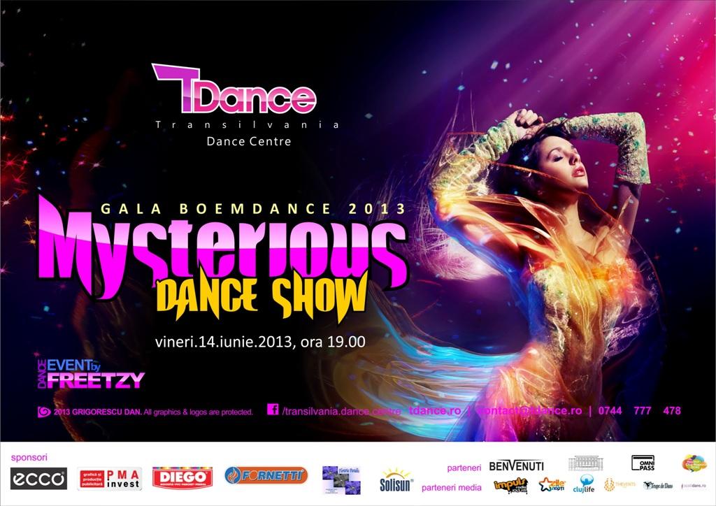 Mysterious Dance Show: Gala Boemdance 2013