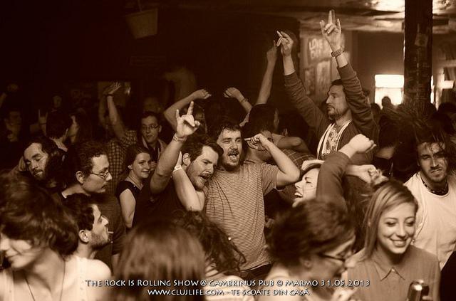 Poze: The Rock is Rolling Show @ Gambrinus Pub