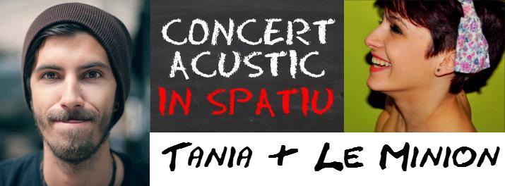 Tania & Le Minion @ Spatiu Cafe-Pub