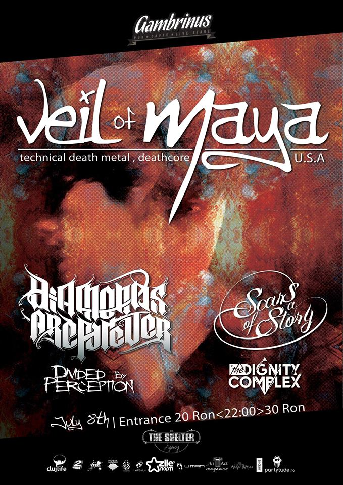 Veil of Maya @ Gambrinus Pub