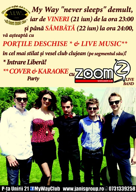 Cover & Karaoke Party @ Club My Way