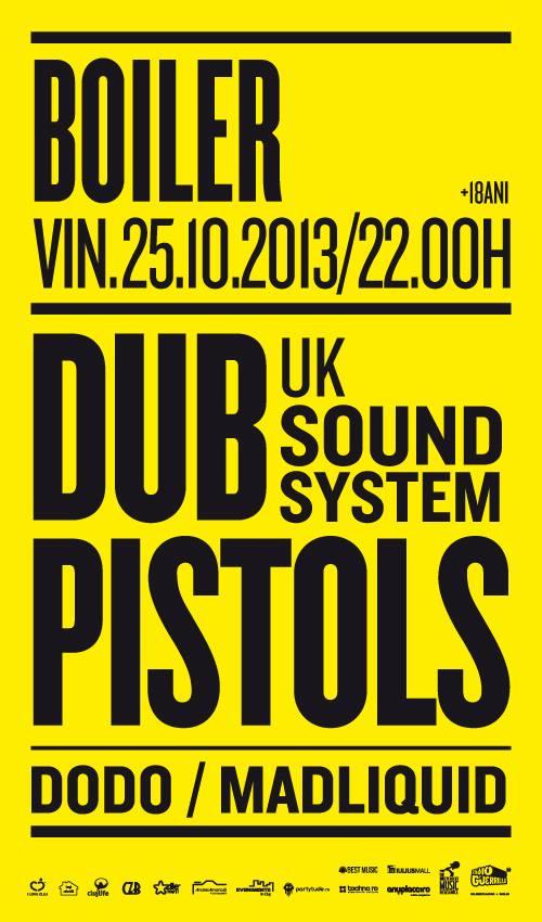 Dub Pistols @ Boiler Club