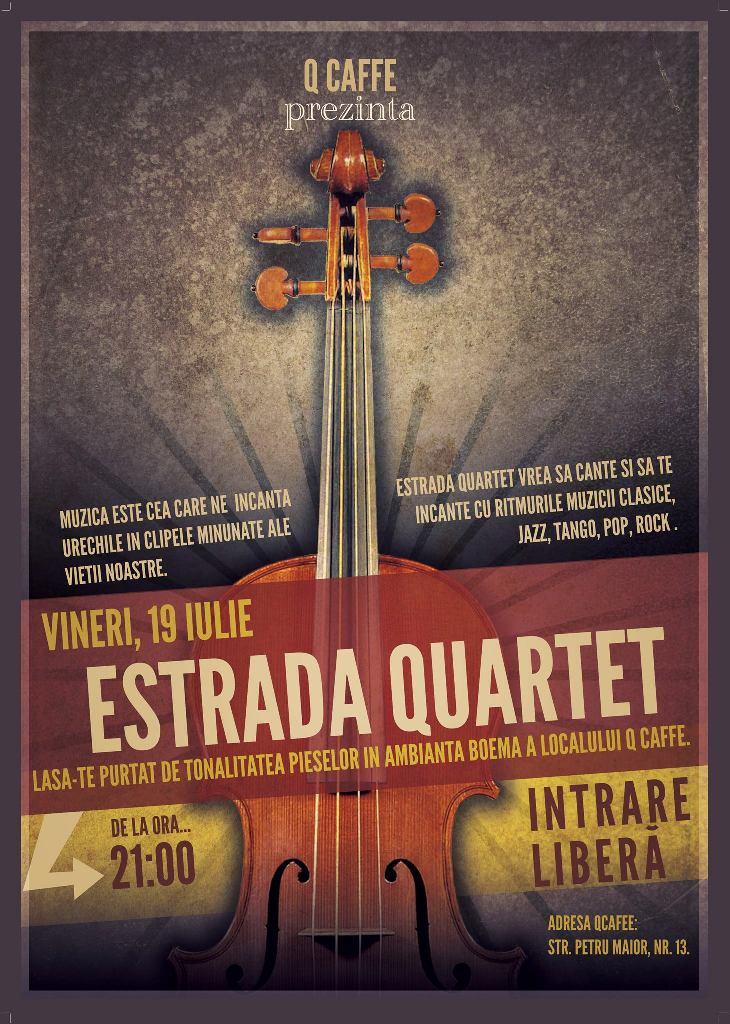 Estrada Quartet @ Q Caffe