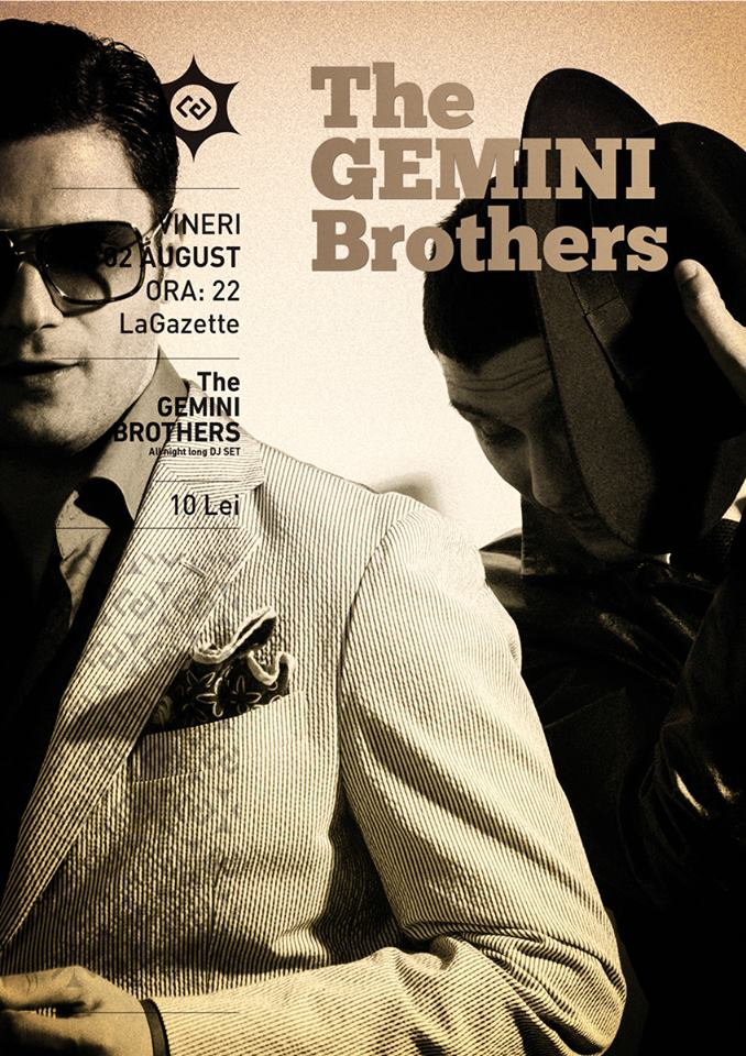 The Gemini Brothers @ La Gazette