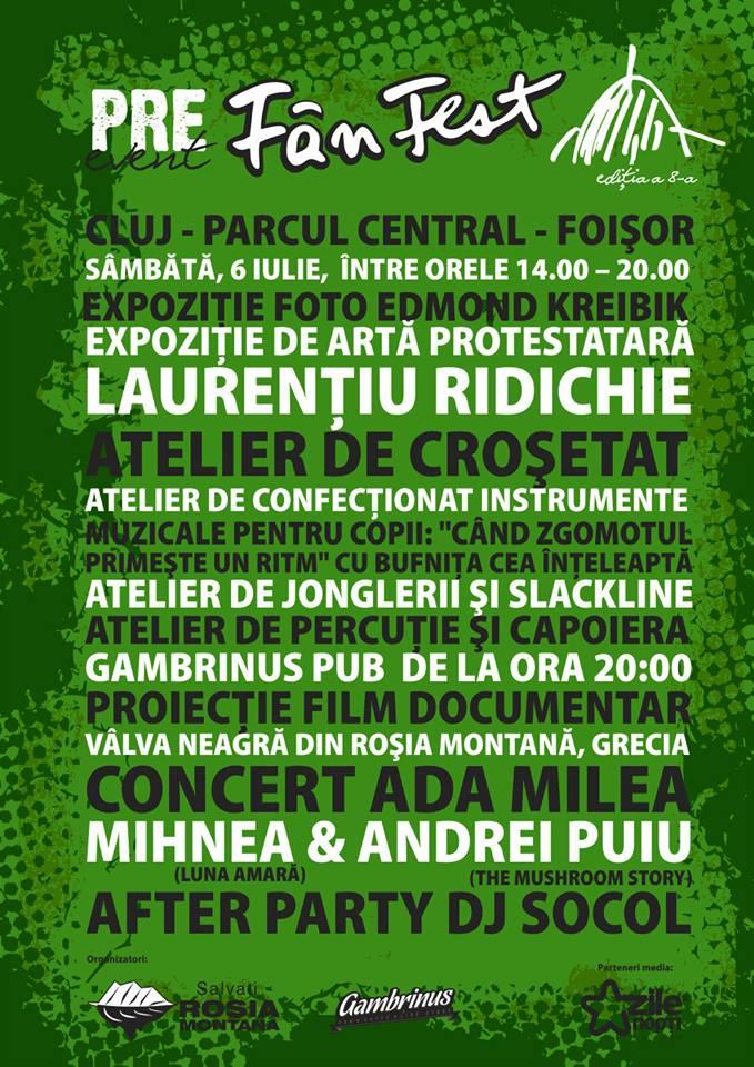 Pre-event Fânfest – Cluj