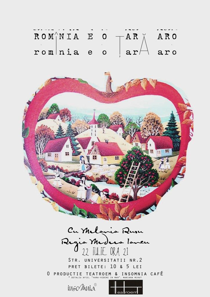 Romînia e o ţară Aro @ Insomnia Cafe