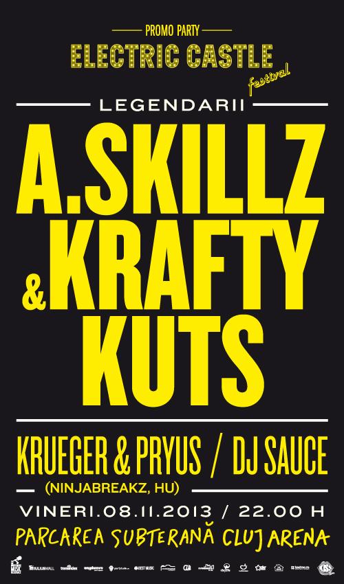 A Skillz vs Krafty Kuts @ Cluj Arena