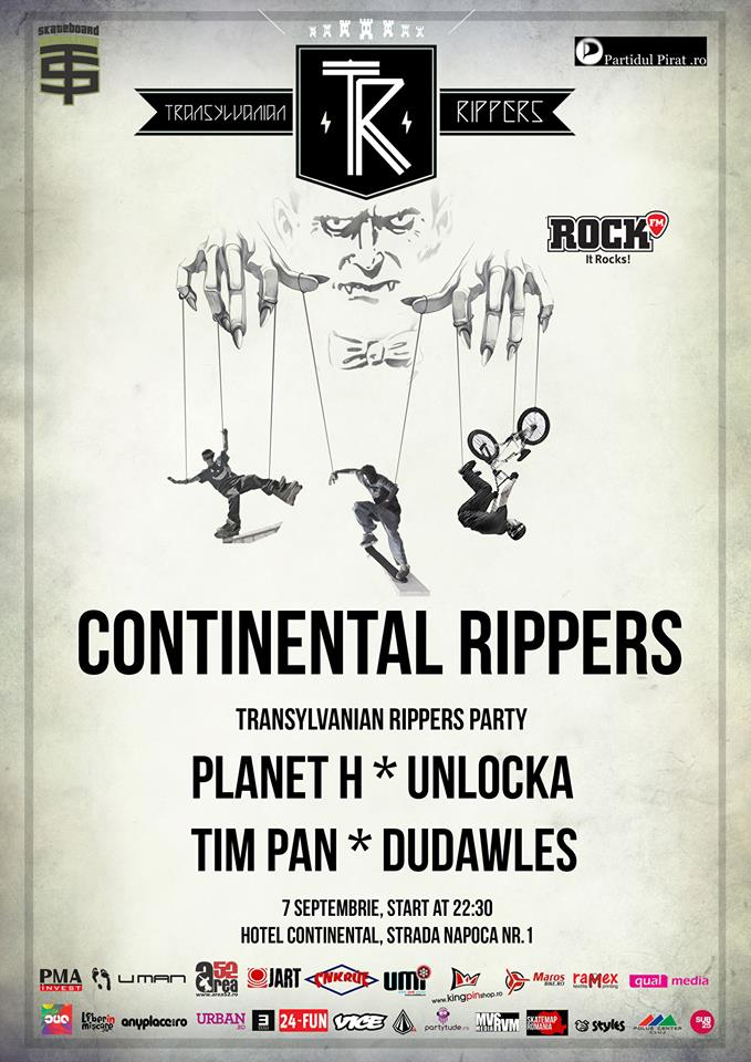 Continental Rippers @ Hotel Continental