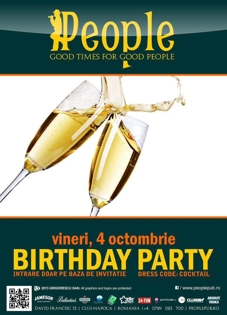 People Pub's Birthday Party