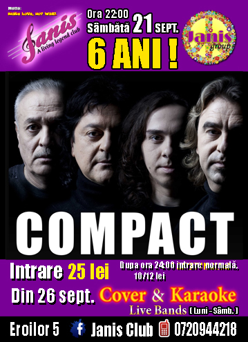Compact @ Janis Club
