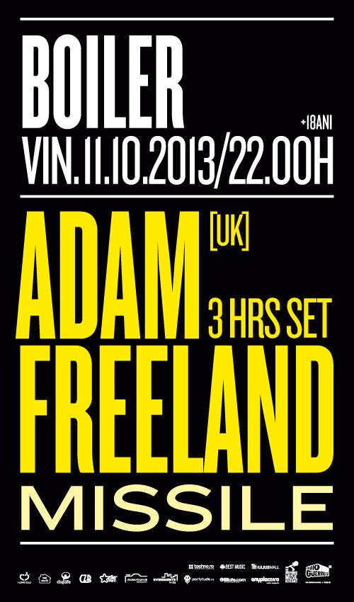 Adam Freeland @ Boiler Club