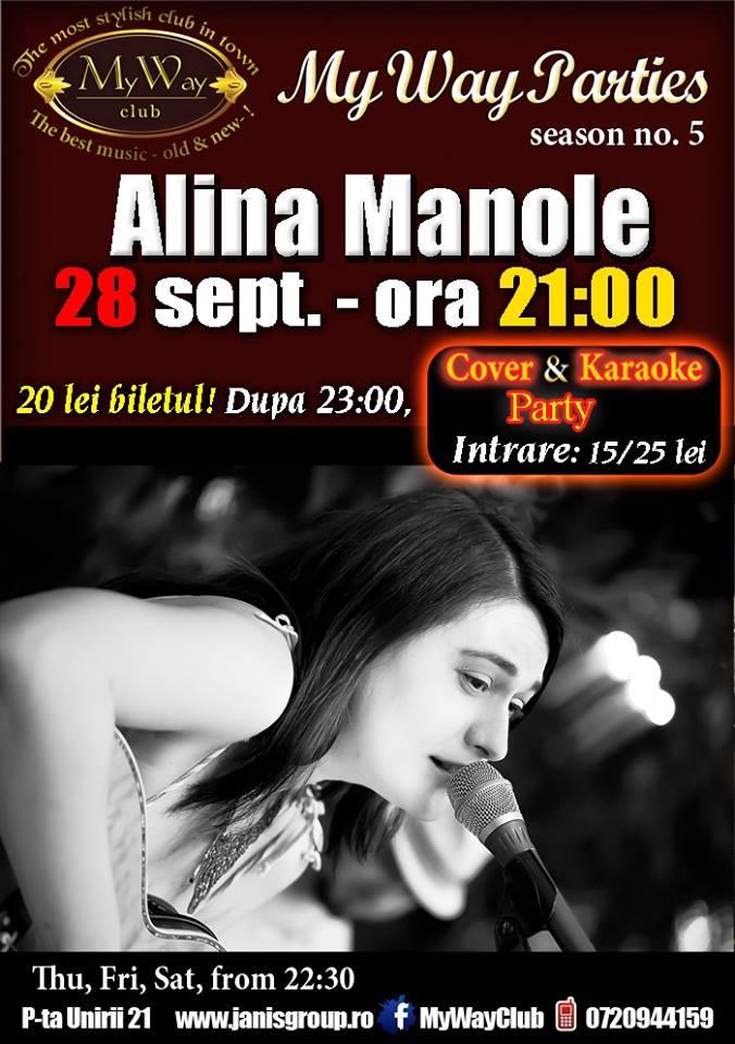 Alina Manole @ Club My Way