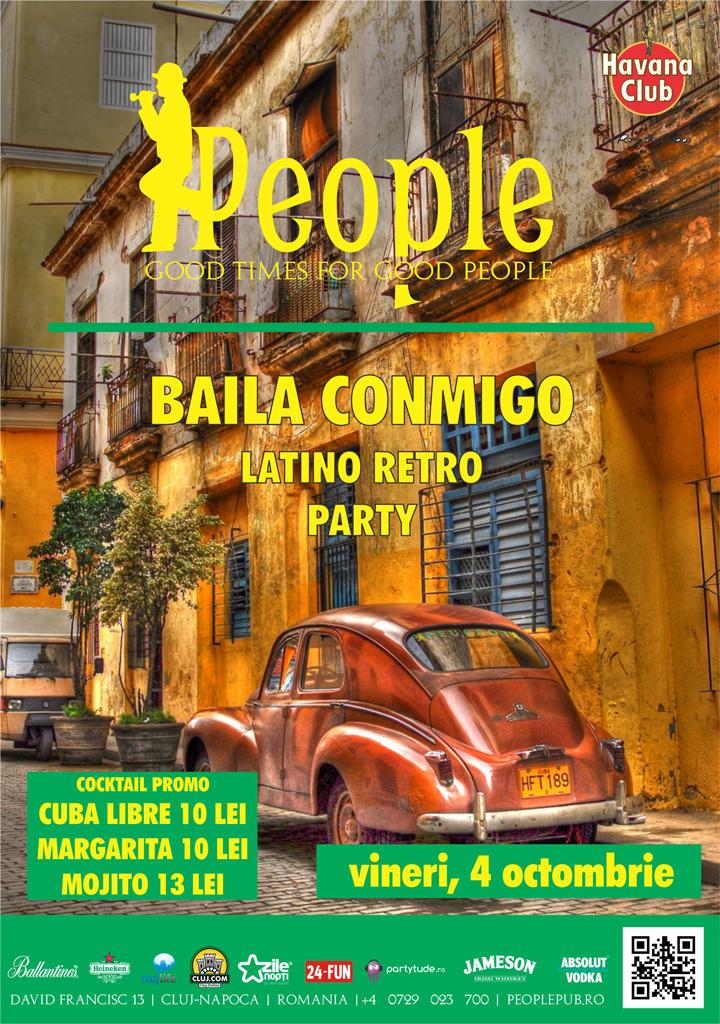 Baila Conmigo Latino Retro Party @ People Pub