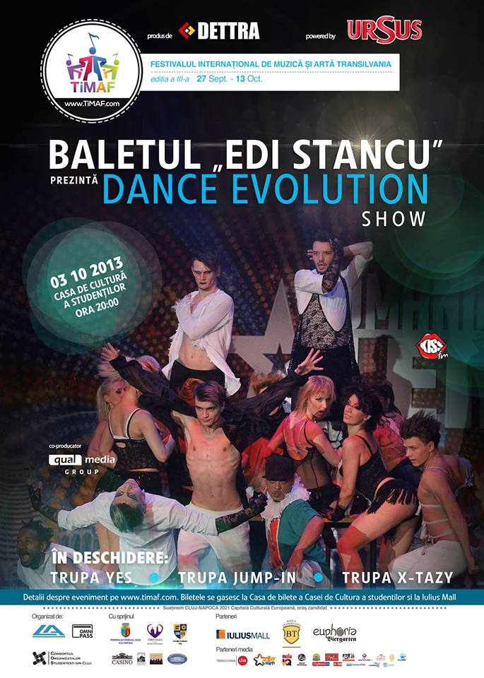 Dance Evolution Show @ Casa de Cultura a Studentilor