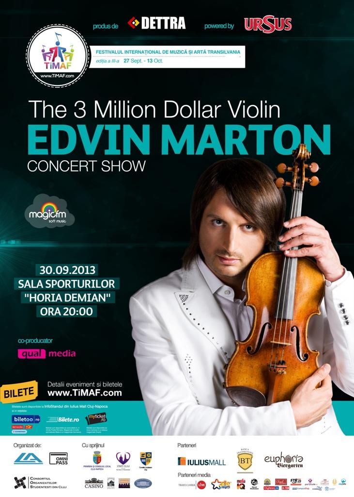 "Edvin Marton @ Sala Sporturilor ""Horia Demian"""