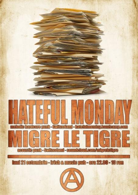 Hateful Monday @ Irish & Music Pub