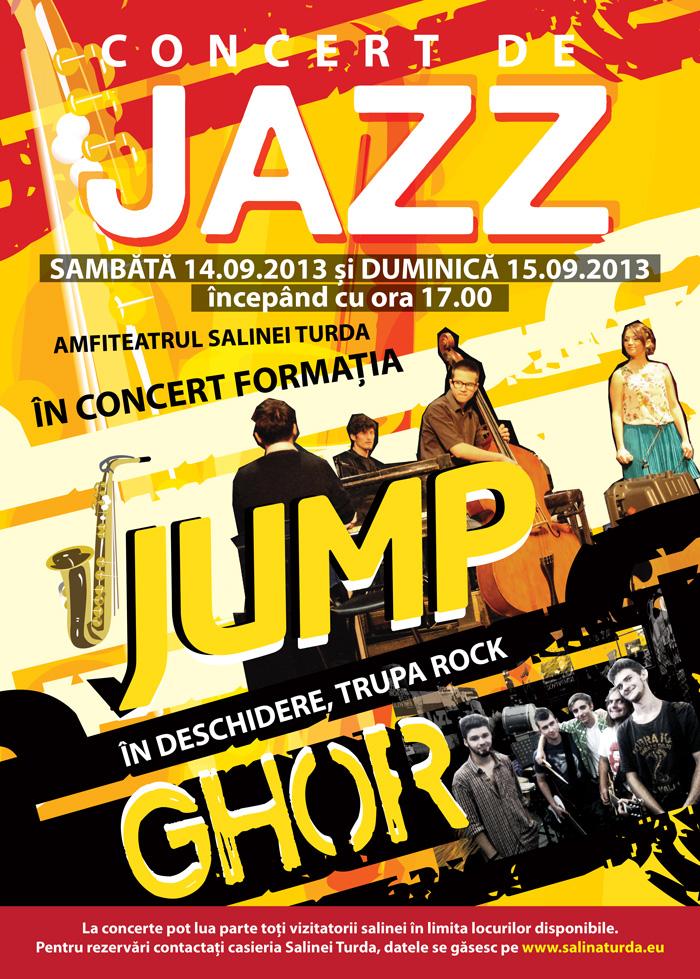 Concert de jazz și rock în Salina Turda