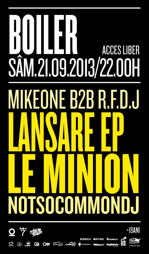 Lansare EP Le Minion @ Boiler Club