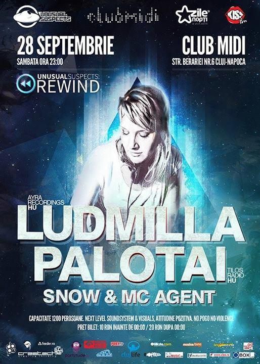 Ludmilla & Palotai @ Club Midi