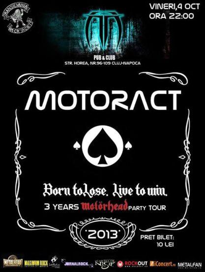 Motoract @ Truda Pub