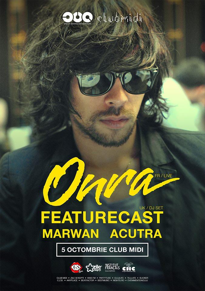 Onra / Featurecast @ Club Midi
